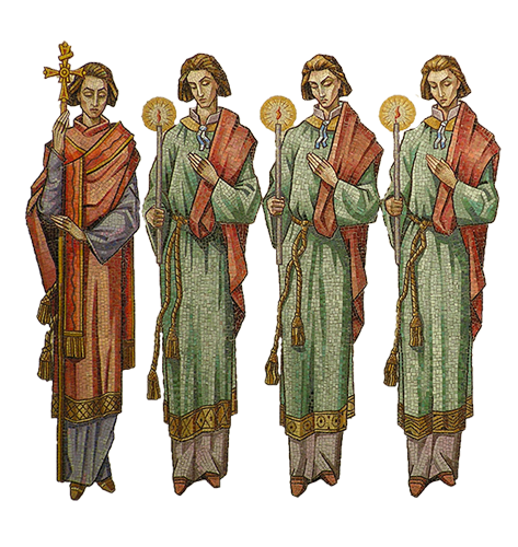 Jozef Cincik: Svätý Gorazd a učeníci sv. Cyrila a Metoda