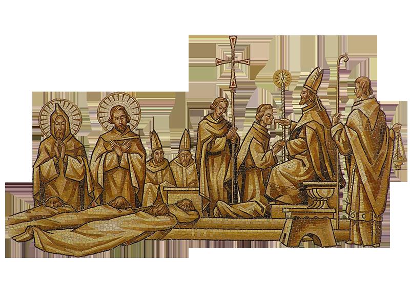 Jozef Cincik: Kňazská vysviacka žiakov sv. Cyrila a Metoda
