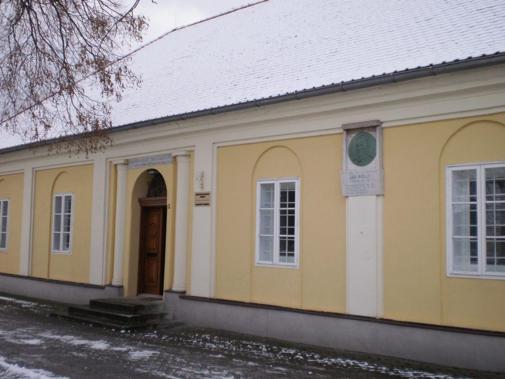 Fara vPobedime, kde Ján Hollý bol kaplánom (foto: vdp. Ľuboš Tvrdý)