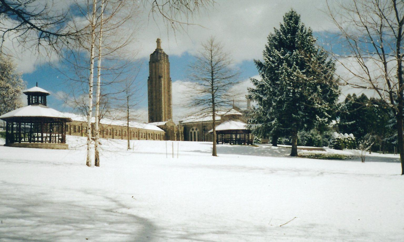 winter northeast view