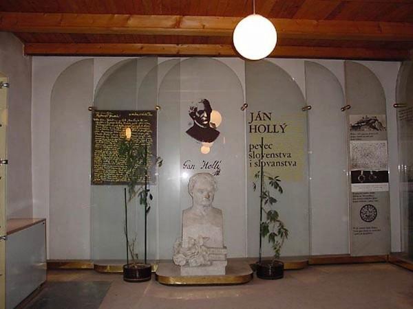 Pamätná izba Jána Hollého na farskom úrade (trnava.dnes24.sk)