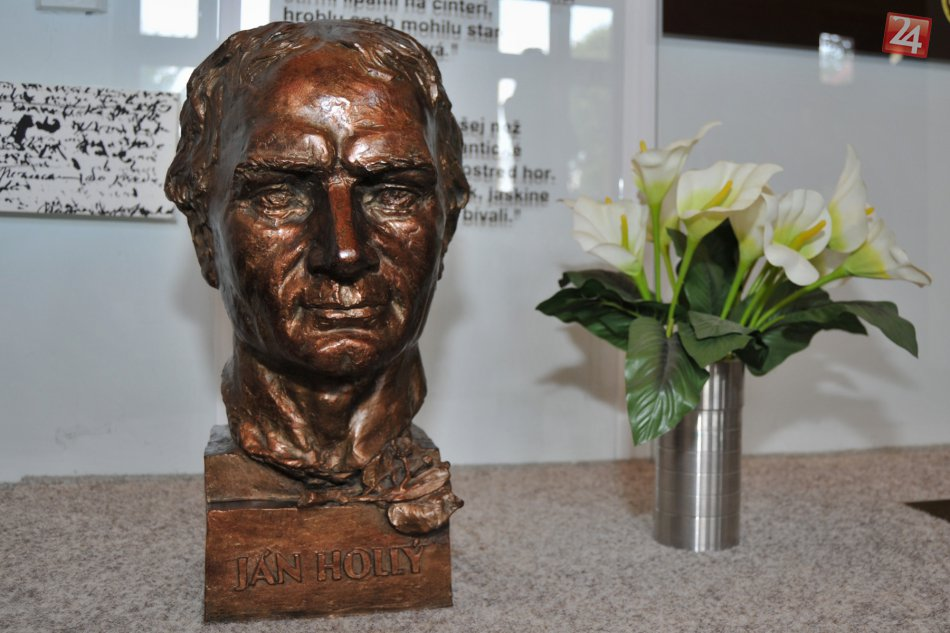 Busta Jána Hollého v pamätnej izbe (trnava.dnes24.sk)